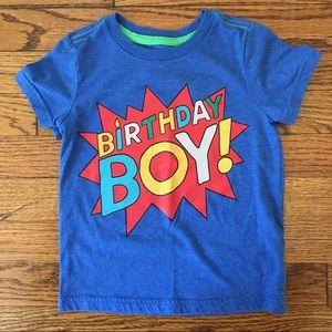 Cat & Jack Birthday Boy T-shirt